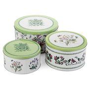 Portmeirion - Botanic Garden Nesting Cake Tin Set 3pce