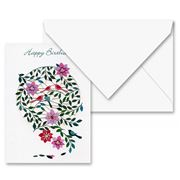Forever - Happy Birthday Birds and Flowers Card