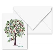 Forever - Owls in Tree Card