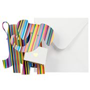 Special Delivery Cards - Elephant Bonbon Fold-Out Card