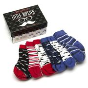 Tippy Toes - Little Hipster Baby Sock Set 6pce