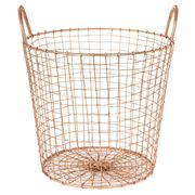 Robert Gordon - Copper Finished Deep Wire Basket Small