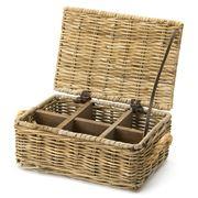 OneWorld - Rattan Tea Box