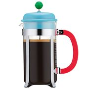Bodum - 70 Years French Coffee Press 8 Cup Pale Blue & Green