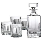 Royal Doulton - Linear Decanter & Tumbler Set 5pce