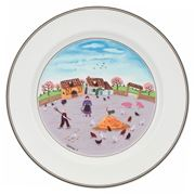 V&B - Design Naif Dinner Plate Poultry Farm