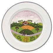 V&B - Design Naif Dinner Plate Huntsman