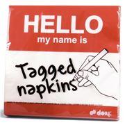Doiy - Tagged Napkins 20pce