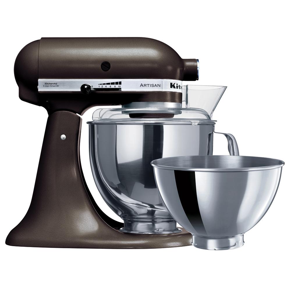 Kitchenaid artisan ksm160 truffle stand mixer peter 39 s of kensington - Kitchen aid artisan accessories ...