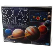 Kidz Labs - 3D Glow in the Dark Solar System Mobile Kit