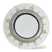Padma - Minakari Sage & Teal Salad Plate