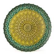 Padma - Spun Glass Teal Tray