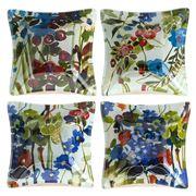 Padma - Wildflower Glass Bowl Set 4pce