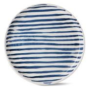 Robert Gordon - Indigo Stripe Dinner Plate