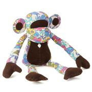Monica Richards - Flowers Monkey Doorstop 15x50cm