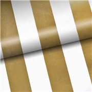 Vandoros - Pavilion Stripe Gold Wrapping Paper