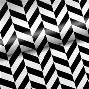 Vandoros - Chevron Black & White Wrapping Paper