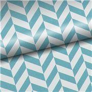 Vandoros - Chevron Blue Wrapping Paper