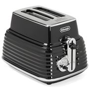 DeLonghi - Scultura Two Slice Toaster CTZ2003 Black