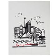 ART - Tea Towel Sydney