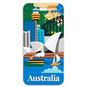AT - Australia Sydney Luggage Tag