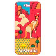 AT - Australia Luggage Tag Outback