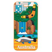 AT - Australia Luggage Tag Darwin