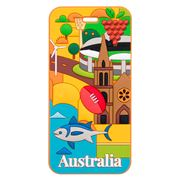 AT - Australia Luggage Tag Adelaide