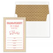 Gwyneth Paige - Carolina Coral Peanut Invitation Set