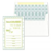 Gwyneth Paige - Perri Chartreuse Birdie Invitation Set