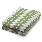 Linen & Moore - Kate Chartreuse Throw Rug