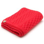 Otto & Spike - Brioche Coral Bassinet Blanket