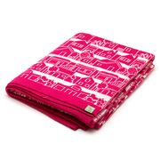 Otto & Spike - Neighbourhood Orchid Cot Blanket