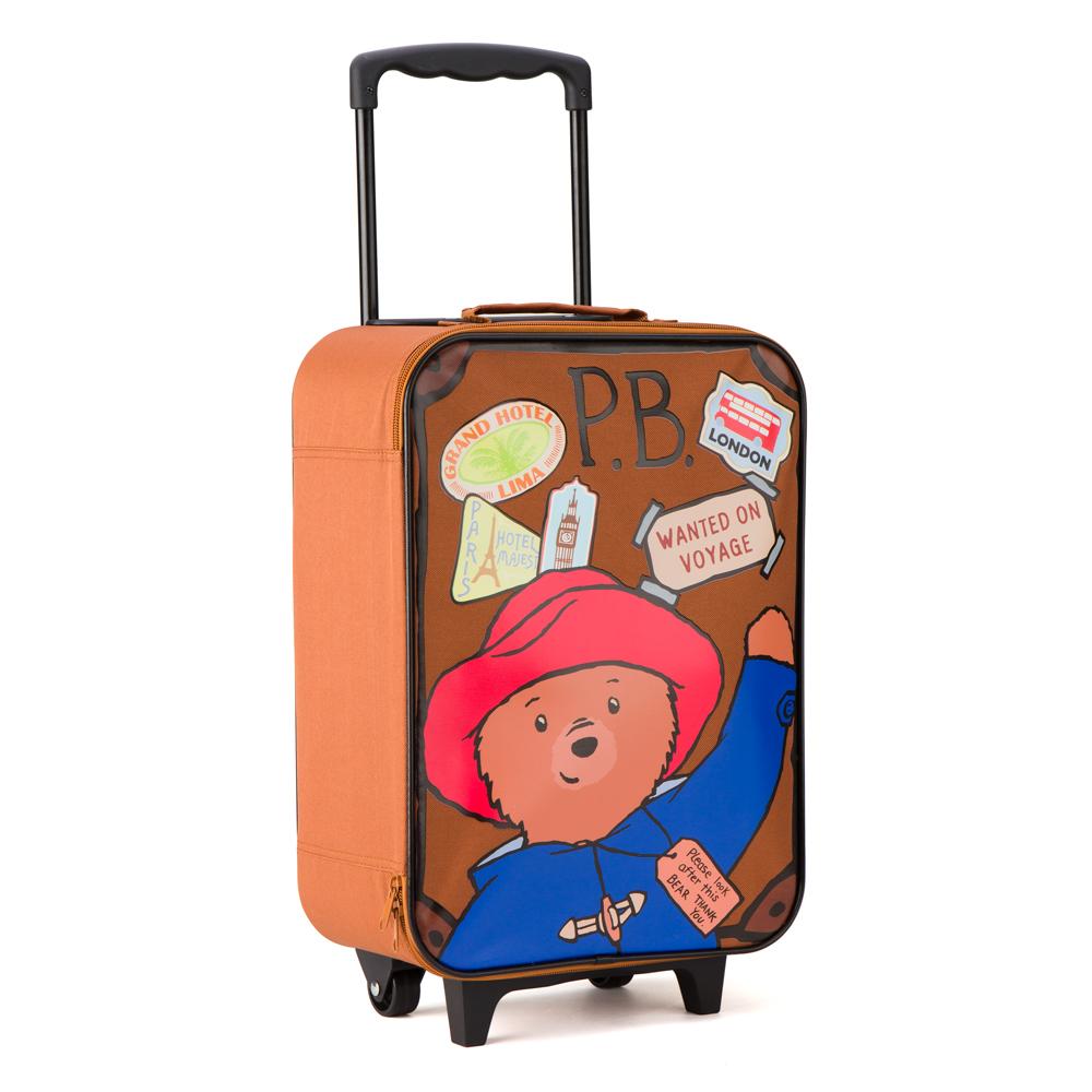 Paddington - Paddington Bear Wheelie Bag | Peter's of Kensington