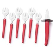 Coutellerie - Evolution Red Oyster Set 7pce