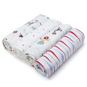 Aden and Anais - Vintage Circus Swaddle Set 4pce