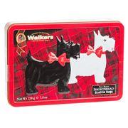 Walkers - Pure Butter Shortbread Scottie Dogs Tin 220g