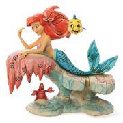 Disney - Little Mermaid On Rock