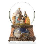 Roman Christmas - Christmas Nativity Scene Snow Globe Small