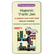 Purple Cow - Magnetic Traffic Jam Travel Game