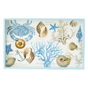 Michel Design - Seashore Wooden Decoupage Vanity Tray