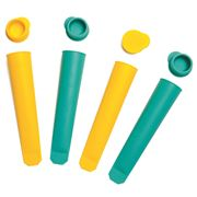 SunnyLife - Icy Pole Moulds Set 4pce Turquoise & Yellow