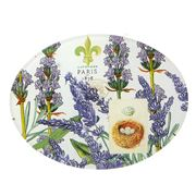 Michel Design - Lavender Rosemary Glass Soap Dish