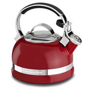 KitchenAid - Porcelain Enamel Empire Red Stovetop Kettle
