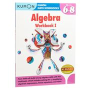 Book - Kumon Algebra: Workbook I