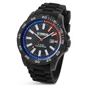 Yamaha By TW Steel - Y4 45mm Watch with Black Strap