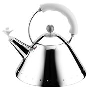 Alessi - Michael Graves White Kettle with Bird Whistle