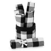 NowDesigns - Bucket 'O Black Napkins Set 6pce