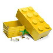 LEGO - Yellow Storage Brick 8 Studs