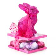 Boz Easter - Bunny on the Ritz Fuchsia Gift Box